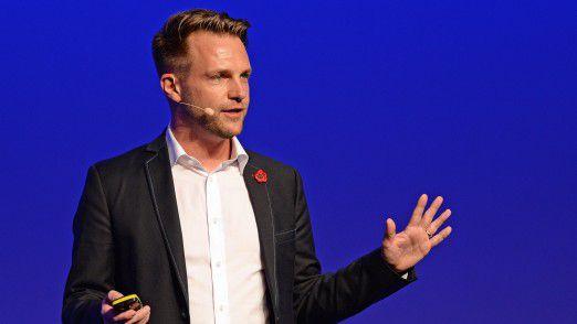 Wingu CEO Michael Wolf sprach auf den Hamburger IT-Strategietagen.