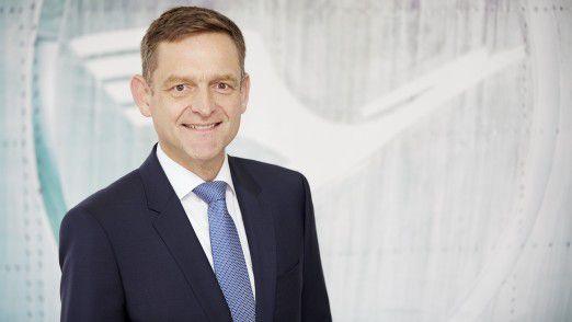Henning Krüger ist neuer CIO bei der Lufthansa Technik AG.