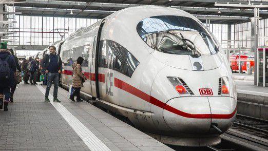 Die Deutsche Bahn arbeitet am Komfort.