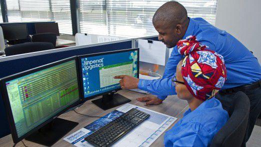 Das neue Transportmanagementsystem Carlo im Einsatz bei Imperial Logistics in Südafrika.