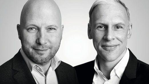 Sebastian Purps-Pardigol (links), Digitalisierungspionier, Organisationsberater und Henrik Kehren, Serienunternehmer und Digitalisierungsexperte.