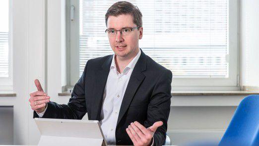 Oliver Haas, Leiter IT-Management der Dortmunder Energie- und Wasserversorgung GmbH, schätzt das Internet der Dinge als wichtigen Trend ein.