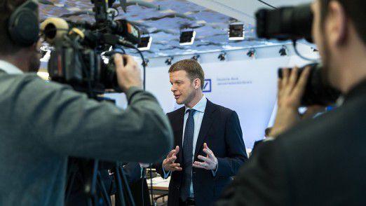 Der neue Deutsche Bank CEO Christian Sewing.
