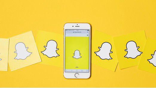Snapchat kämpft mit Problemen.