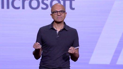 """""""Die Welt wird zum Computer"""", formuliert Microsoft-Chef Satya Nadella seine Vision."""