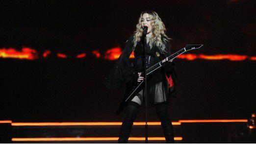 """Musikkünstler mit """"Superstar-Status"""" wie Madonna haben eine höhere Wahrscheinlichkeit, einen Hit zu landen."""
