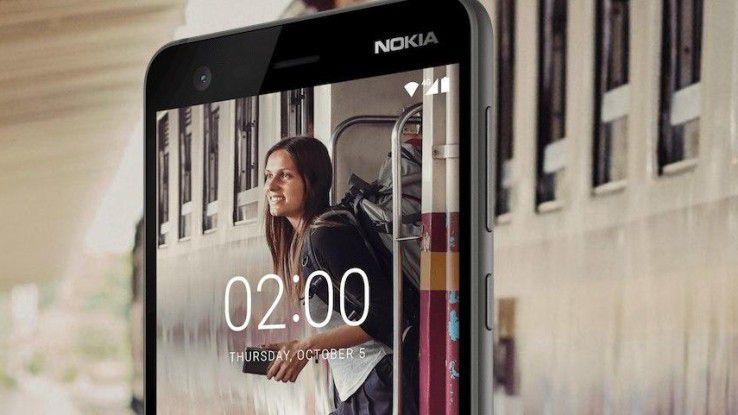 Nokia 2: Android 8-kompatibel, 2 Tage Akkulaufzeit für 119 Euro