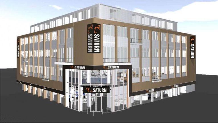 So soll er aussehen: Der neue Flagship-Store von Saturn in Köln