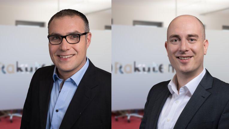 Neue Rakuten.de-Geschäftsführer: Guido Schulz und Frank Hümmer