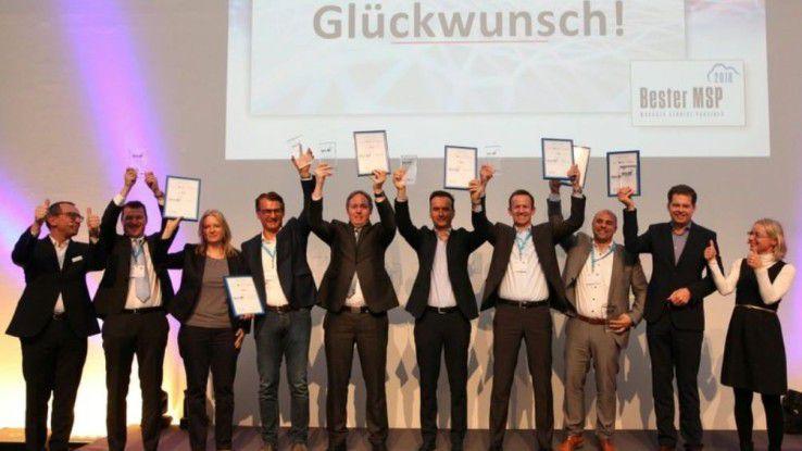 Die Award-Gewinner von 2018