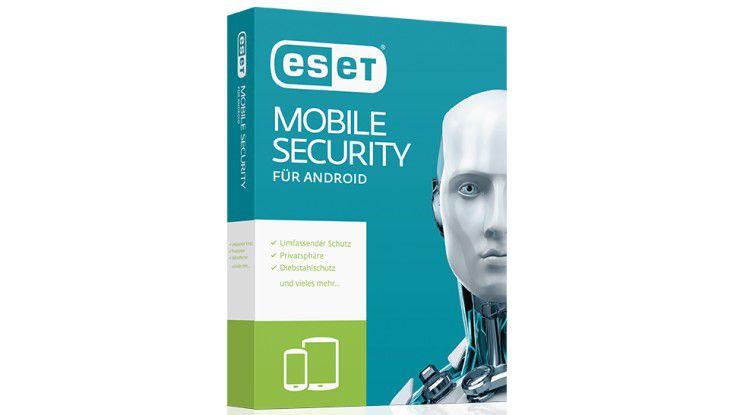 Neue Funktionen für Eset Mobile Security 4.0: Diebstahlsschutz und App Lock.