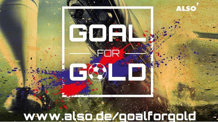 Wer seinen Umsatz mit Also steigert, kann bei der ''Goal for Gold''-Promotion attraktive Preise gewinnen.