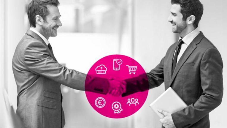 Als Teilnehmer des SoftwareBoost-Programms adressiert die Telekom Softwarehäuser und Entwickler, die ihr Produkt als SaaS-Lösung zukunftsorientiert und kosteneffizient aufstellen wollen.