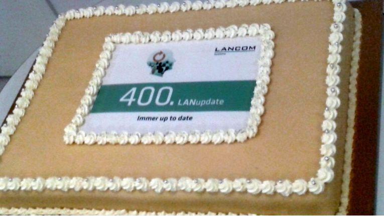 Im Frühjahr 2018 feierte Lancom das 400ste LANupdate. Mit diesen Veranstaltungen informiert der Hersteller seine Händler seit Jahren traditionell vor Ort.