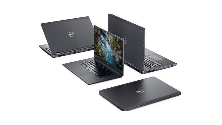 Die Mitglieder der neuen Precision-Familie von Dell.