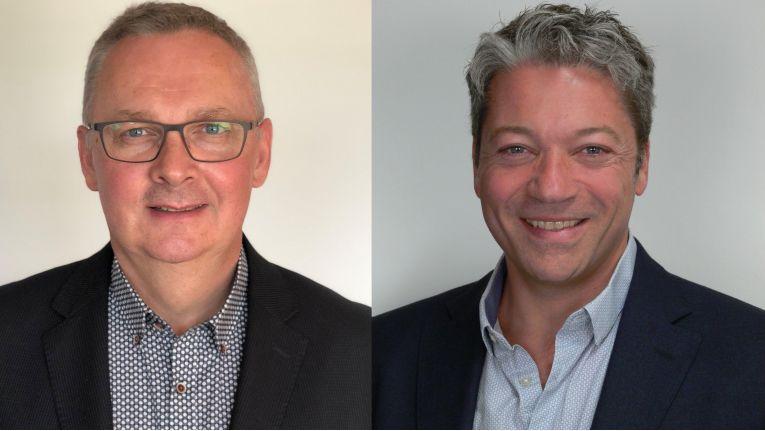 """Francis Incourt, Gründer und CTO sowie Jean-François Saint-Pierre, CEO von Evolusys: """"Wir freuen uns sehr, Teil der Bechtle Gruppe zu werden."""""""