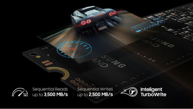 Die TurboWrite-Technik in der Samsung 970 EVO sorgt für hohe Schreibraten und wurde noch weiter verbessert.