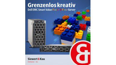 Flexible Smart Value Server: Siewert & Kau baut Dell-EMC-Sortiment aus - Foto: Siewert und Kau