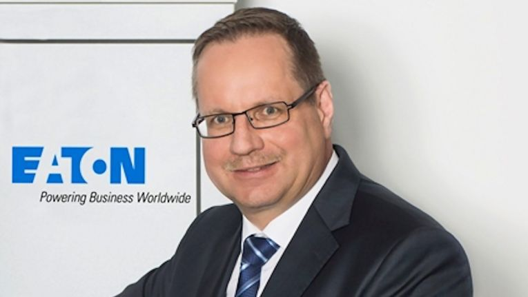 Martin Kram, Director Sales & Managing Director bei Eaton, bringt die bereits 2016 vorgestellte Lösung jetzt nach Deutschland.