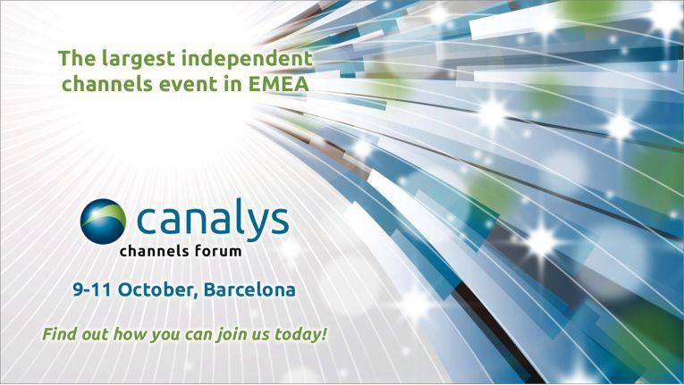 Das Canalys Channels Forum EMEA findet vom 9. Bis 11. Oktober 2018 in Barcelona statt.