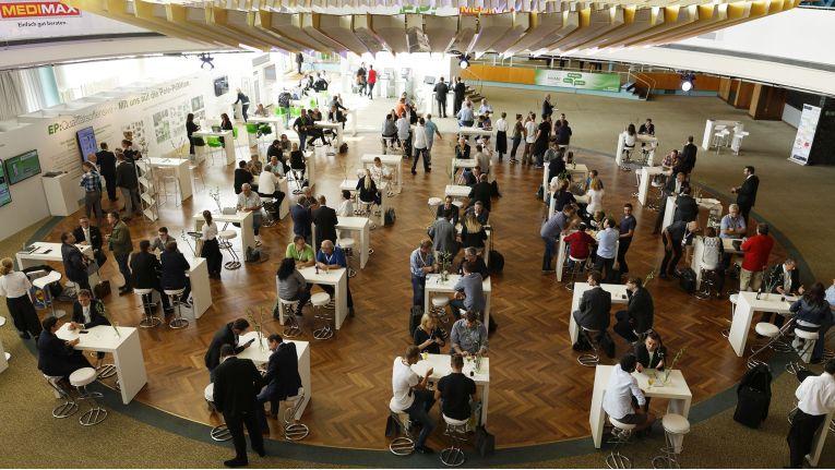 Bereits 2017 war das IFA-Palais die zentrale Anlaufstelle für die Mitglieder von ElectronicPartner.