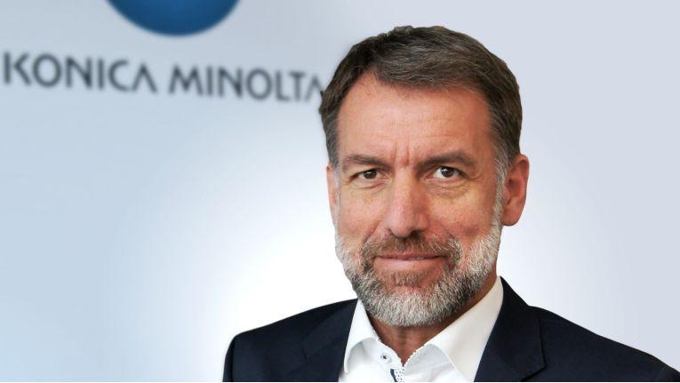 """""""Ich freue mich auf die neue Herausforderung bei Konica Minolta - ein wirklich agiles, kundenorientiertes und innovatives globales Unternehmen mit japanischen Wurzeln"""", erklärt Jörg Hartmann zum Amtsantritt bei seinem neuen Arbeitgeber."""