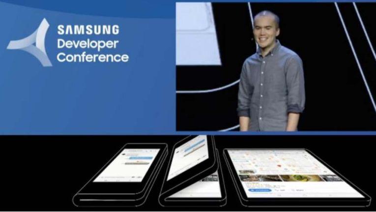Samsung zeigt sein erstes faltbares Smartphone mit Infinity Flex Display