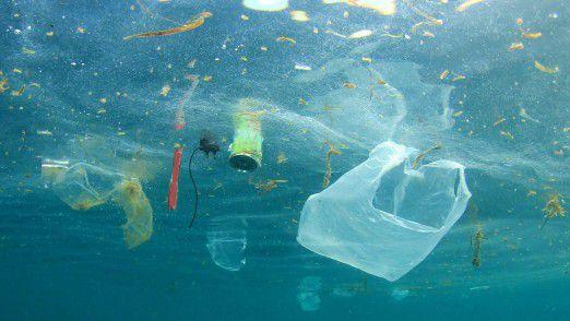 Plastikabfälle stellen ein immenses Problem für die Weltmeere dar.