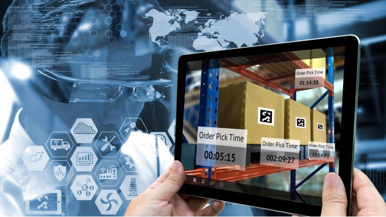 Augmented Reality in der Logistik.
