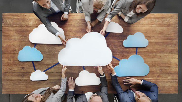 Klar zu unterscheiden: Multi Cloud versus Hybrid Cloud.