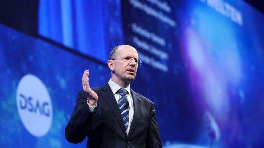 """""""SAP ist technisch auf dem Weg"""", konstatierte Marco Lenck, Vorstandsvorsitzender der DSAG. """"Das reicht uns allerdings nicht."""""""