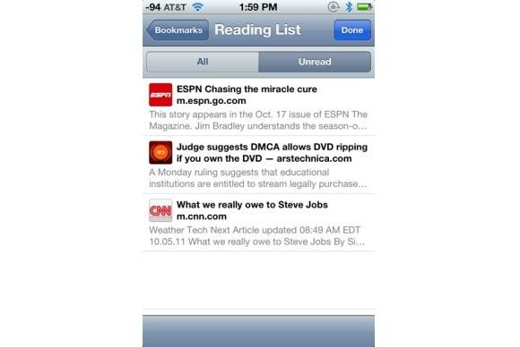 Mobile Safari etablierte sich in drei Jahren.