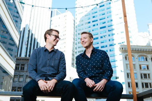 Mesosphere Gründer Tobi Knaup und Florian Leibert.