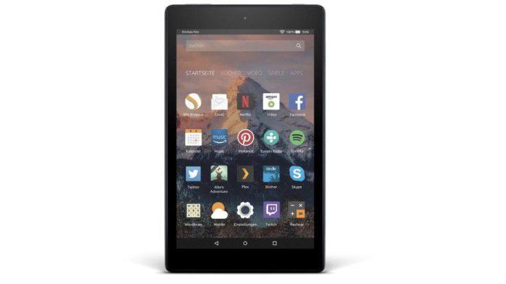 Günstiges 8-Zoll-Tablet von Amazon im Test: Amazon Fire HD 8