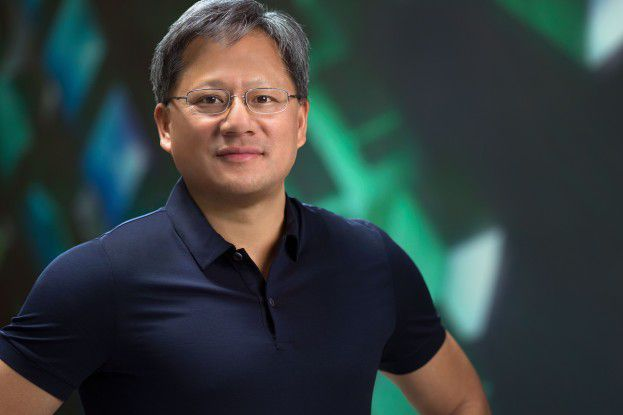 Jensen Huang, Nvidia CEO, blickt optimistisch in die Zukunft.