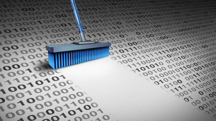 Will man die Informationen zuverlässig und endgültig löschen, braucht es spezielle Algorithmen zur Datenlöschung.
