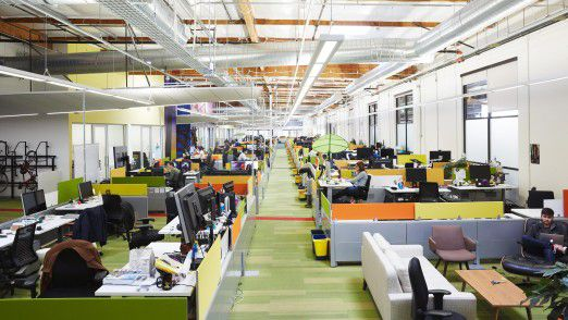 Google macht es vor. So hell und modern könnten alle Büros aussehen.