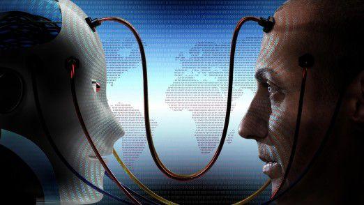 Neue Möglichkeiten und Geschäftsmodelle ergeben sich vor allem durch ein gut koordiniertes Zusammenspiel zwischen menschlicher und unmenschlicher Intelligenz.