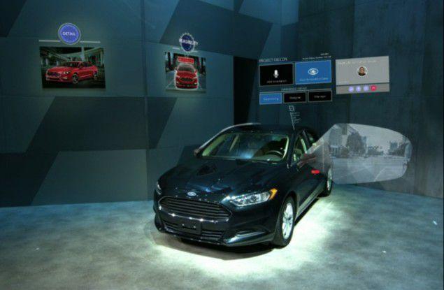 Augmented Reality Szenario mit Remote Experience