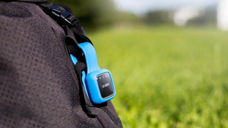 Der V-Bag-Sensor soll den Taschendiebstahl erschweren.