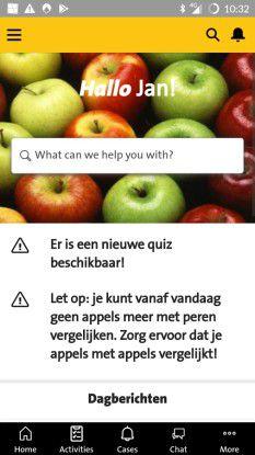 Die niederländische Supermarktkette hat mit dem neuen Tool mySalesforce die App Foodcoach entwickelt.