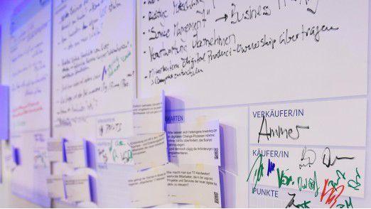 Der Marktplatz der Themen ist das Forum, auf dem die Teilnehmer für Ihre Diskussionsthemen werben.