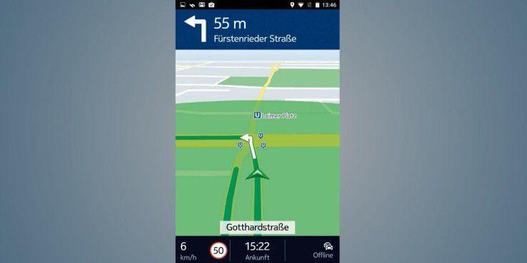 Die kostenlose Anwendung Here WeGo bietet Ihnen eine gelungene Schritt-für-Schritt-Navigation, mit der Sie überall auf der Welt an Ihr Ziel kommen.