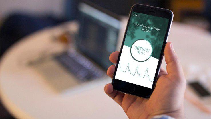 FibriCheck überwacht das Herz per Smartphone-App.