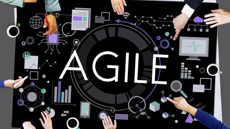 Agile Entwicklungsteams können von flexiblen IT-Ressourcen aus der Cloud profitieren.