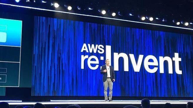 AWS-Chef Andy Jassy wirbt für die neuen Machine-Learning-Services aus der Cloud.