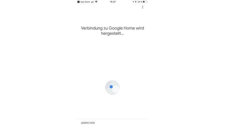 Über die Google Home-App werden die Geräte im Netzwerk angebunden.