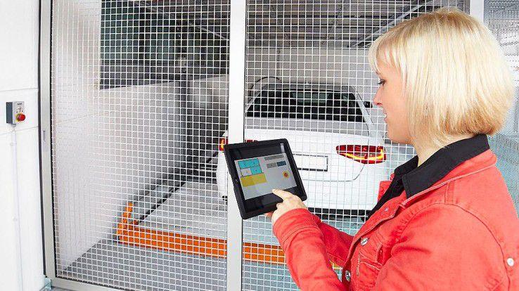 Auch die Parksysteme selbst wurden bei KLAUS Multiparking smart und können etwa per App bedient werden.