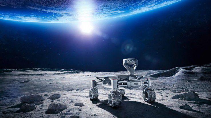 Der Rover ALQ kommuniziert nicht direkt mit der Erde, sondern per LTE über das Landemodul Alina.