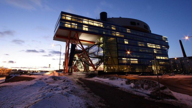 Ein Blick auf die F-Secure-Firmenzentrale in Finnlands Hauptstadt Helsinki.